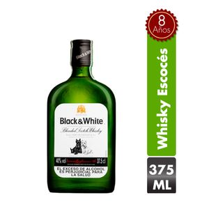 Whisky Black And White 8 Años 375 Ml