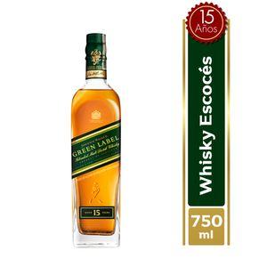 Whisky Johnnie Walker Green 15 Anos 750 Ml