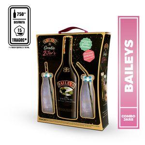 Pack Baileys 700ml + Milk Jars