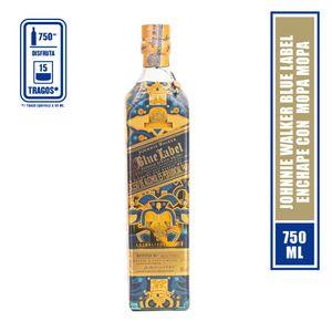 Johnnie Walker Blue Label aguas de vida 750ml