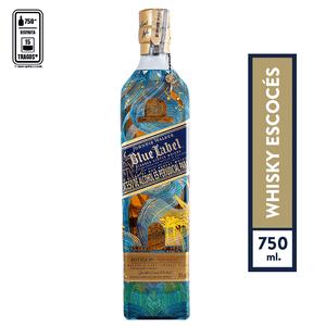 Whisky Johnnie Walker Blue Label Aguas de vida Valle x 750ml