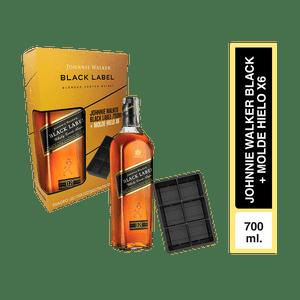 Pack Johnnie Walker black x 700 ml+ molde de hielo
